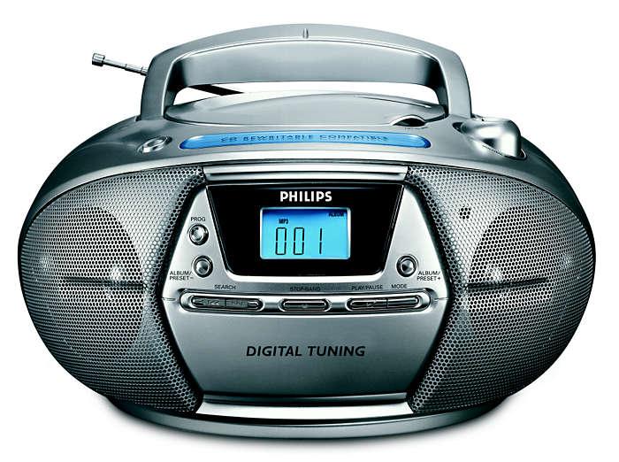 播放 MP3 音樂及數位微調