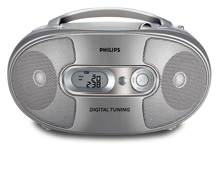 完整的 MP3-CD 體驗
