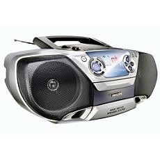 AZ1310/00C -    CD радиокасетофон