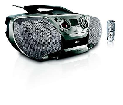 alles-in-een, indrukwekkende MP3-muziek