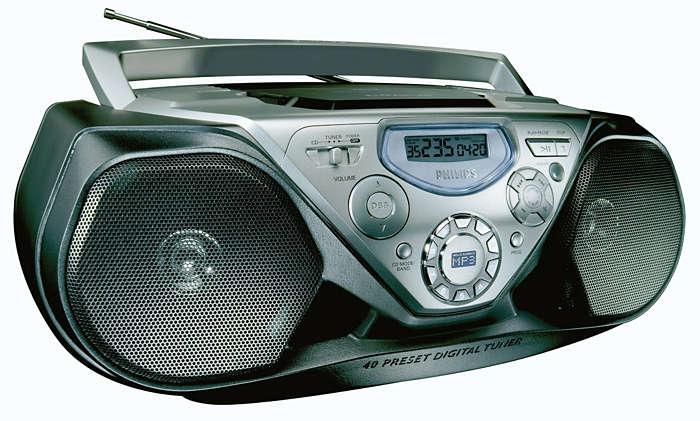 MP3-CD възпроизвеждане