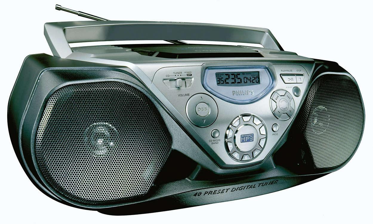 MP3-CD-avspilling