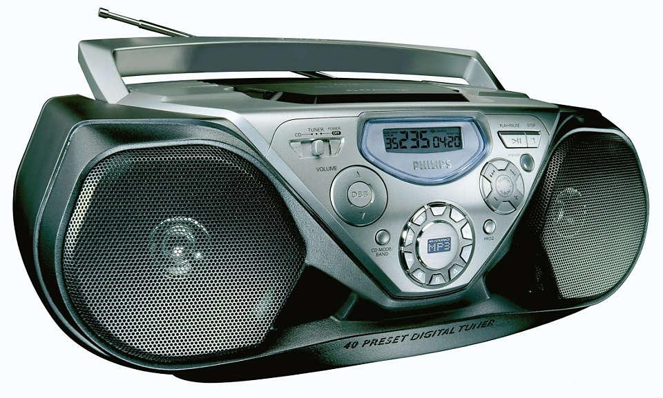 Reprodução CD MP3