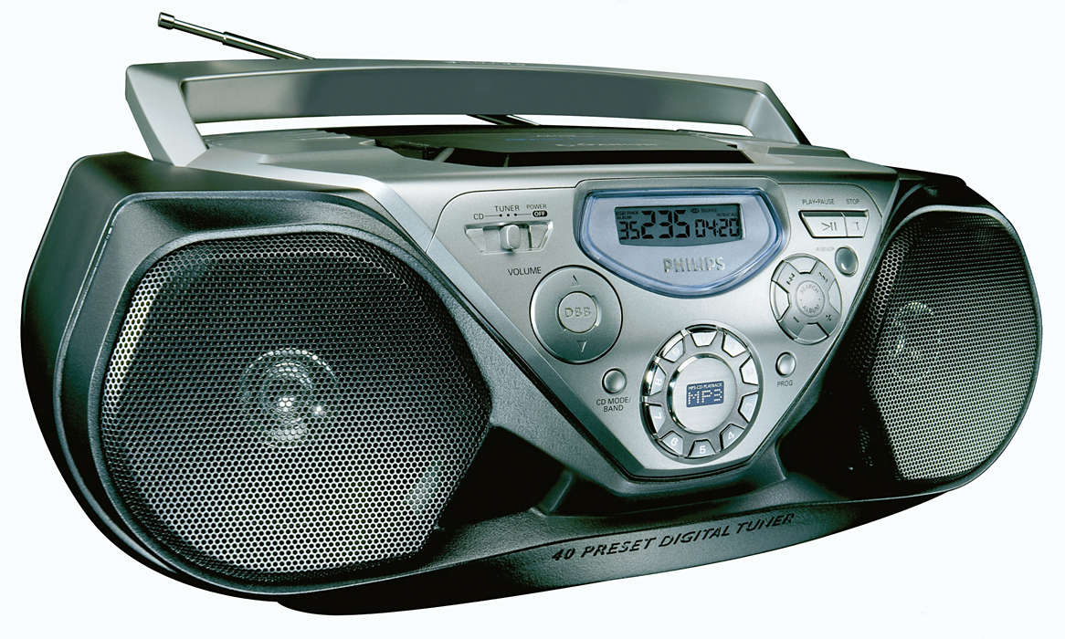Redare MP3-CD