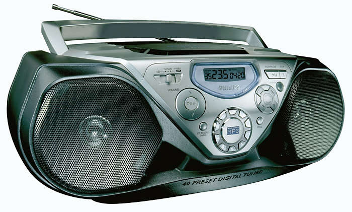MP3-CD-uppspelning