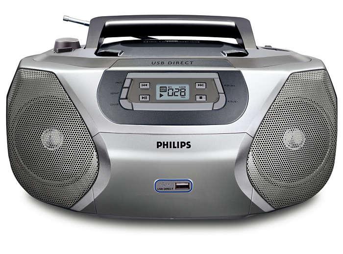 Digitális zenei anyagok lejátszása közvetlenül USB-n keresztül