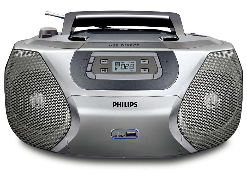 Spela upp din digitala musik via USB Direct