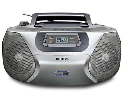 Reproduce tu música digital a través de USB Direct