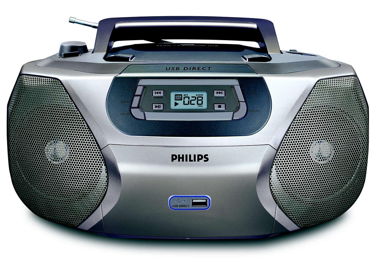 Playback your digital music via USB Direct