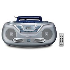 AZ1835/37  Přístroj pro přehrávání disků CD