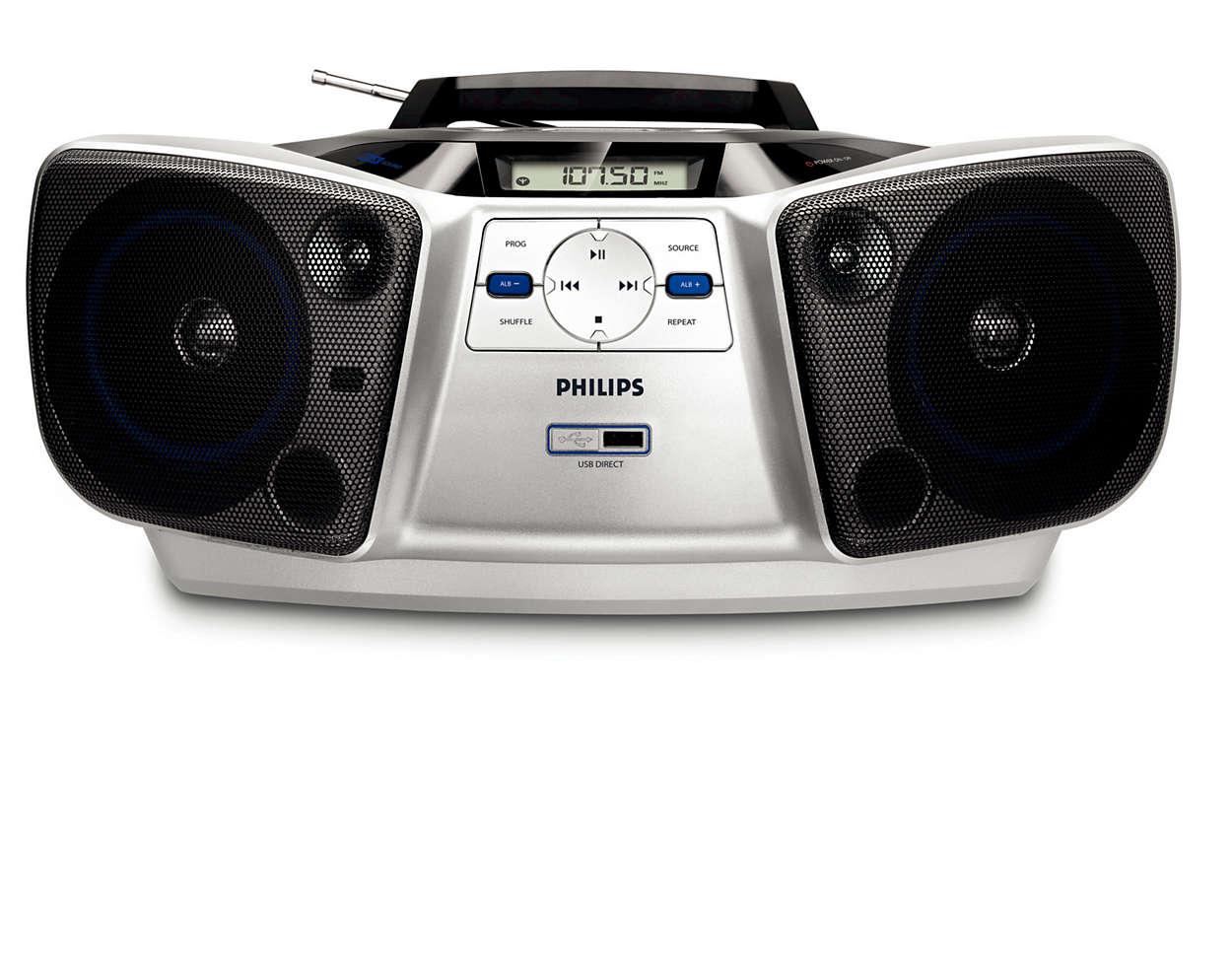 Великолепное звучание портативного устройства