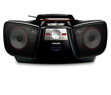 Excelente sonido portátil