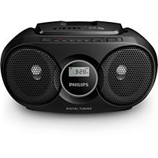 AZ215B/12 -    Prenosni radio s CD-predvajalnikom