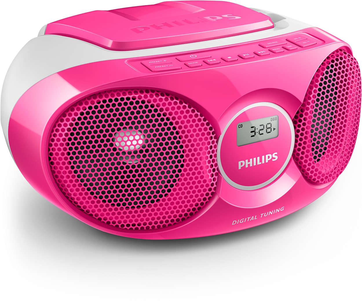 Goede CD Soundmachine AZ215C/05   Philips UW-59