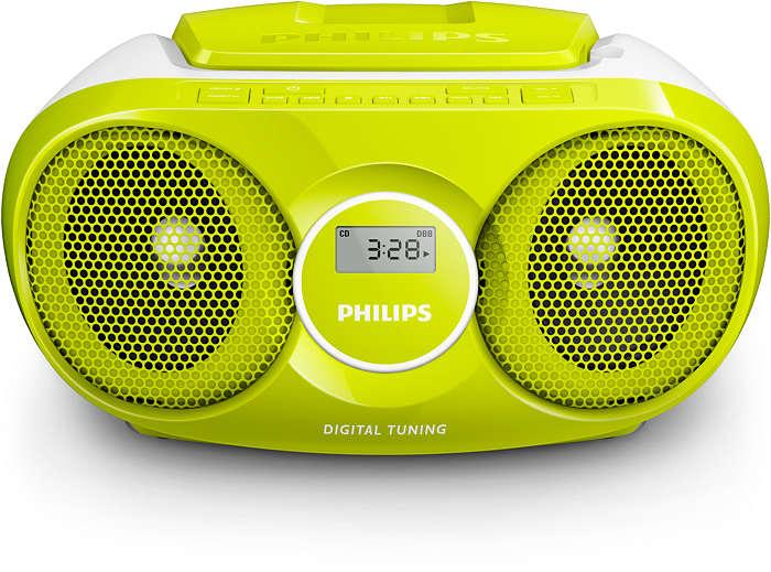 Слушайте музика, където и да сте