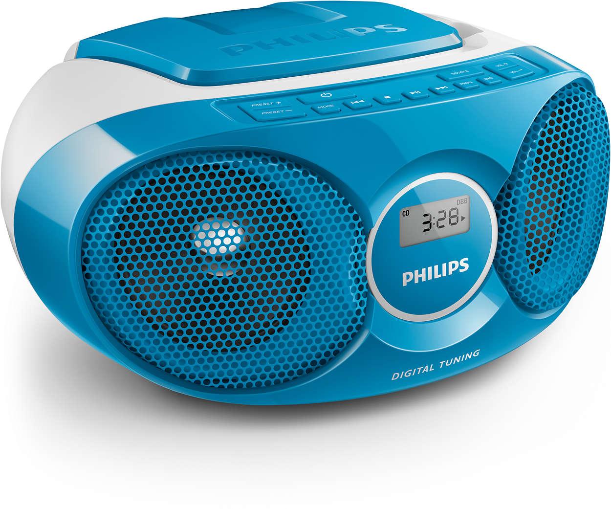 Philips Fernseher Interdiscount : Cd soundmachine az215n 12 philips