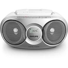 AZ215S/12 -    Prenosni radio s CD-predvajalnikom
