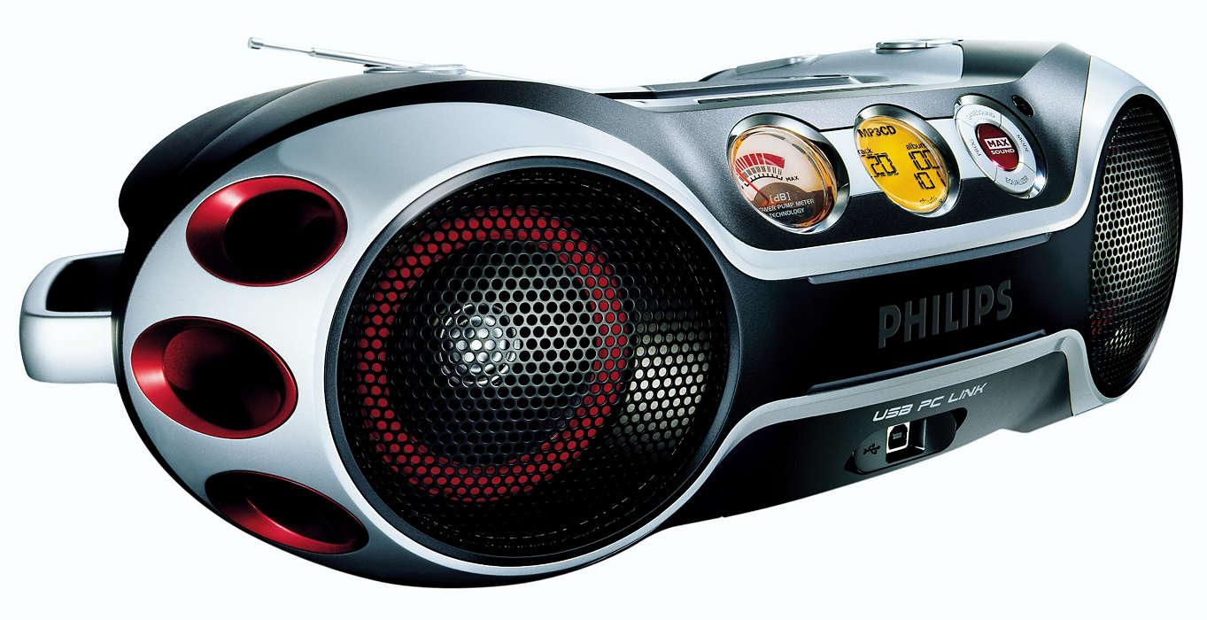 Bedien MP3-muziek vanaf uw PC
