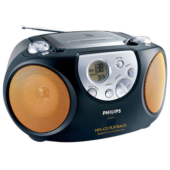MP3 CD -toisto