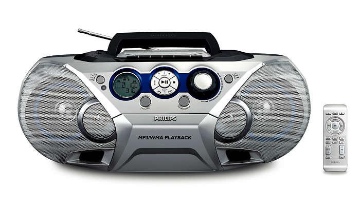 Enjoy your MP3 & WMA digital music