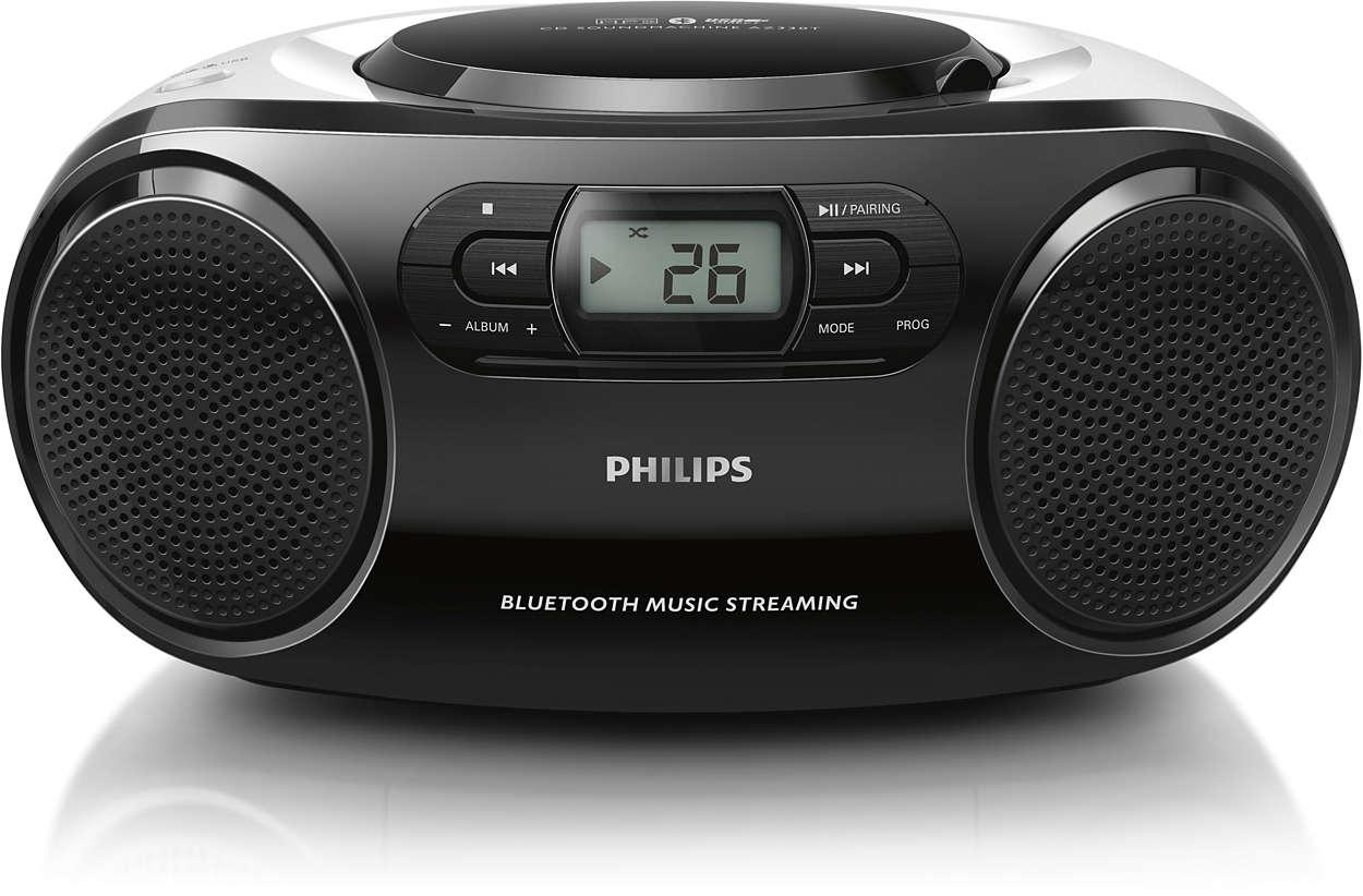 Musica al massimo in modalità wireless ovunque sei