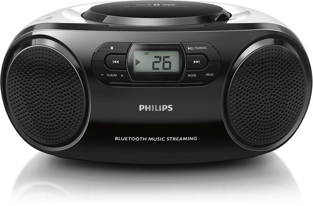 Bucură-te de muzică la volum maxim, oriunde, prin wireless