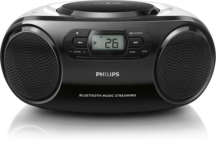 隨時隨地以無線方式享受強力音樂