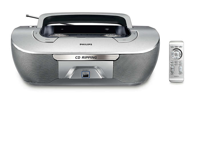 CD's rippen en direct afspelen vanaf USB