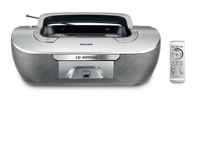 CD-rippning och USB Direct-uppspelning