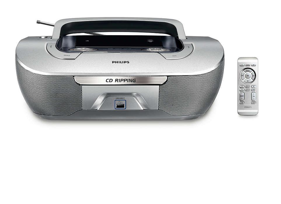 CD Dönüştürme ve Doğrudan USB'den çalma