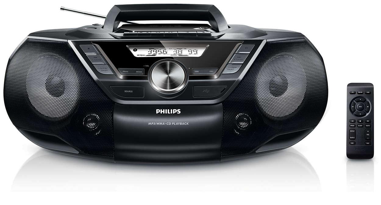 Leistungsstarkes tragbares Sound System