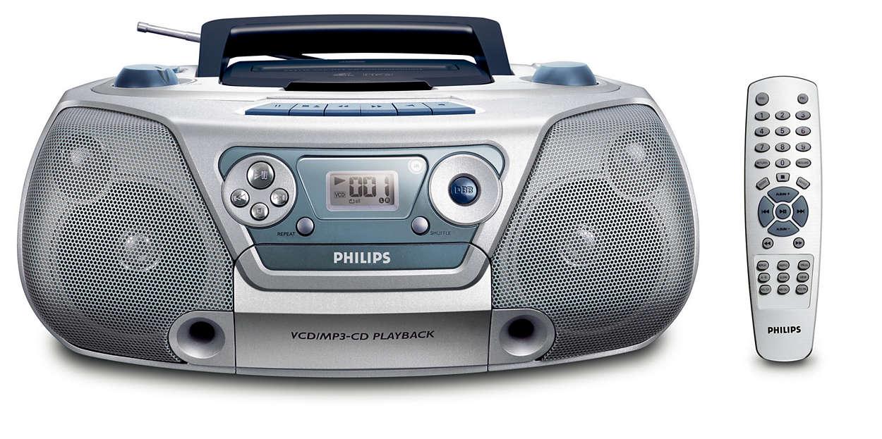 VCD / MP3-CD Soundmachine