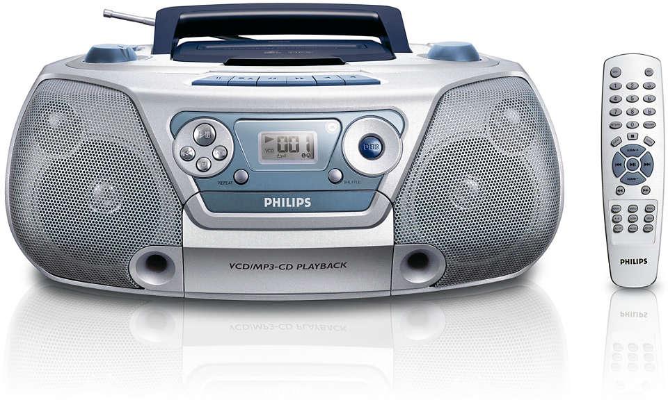 VCD/MP3-CD soundmachine