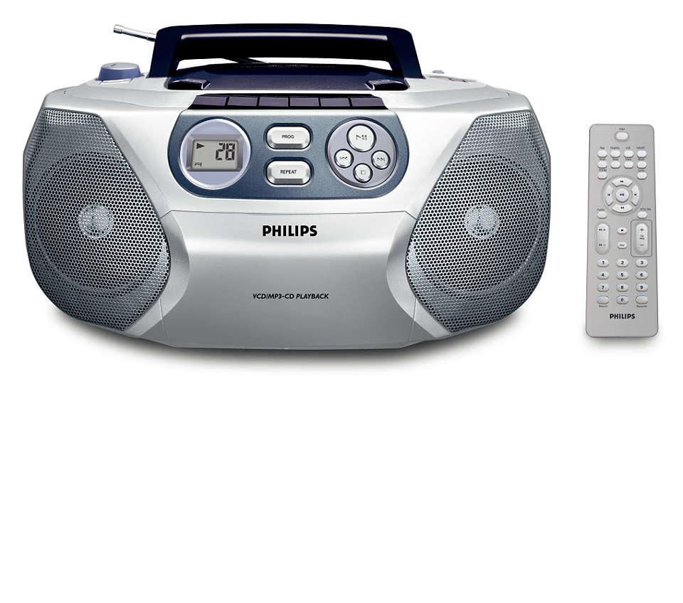 VCD/MP3-CD 音響