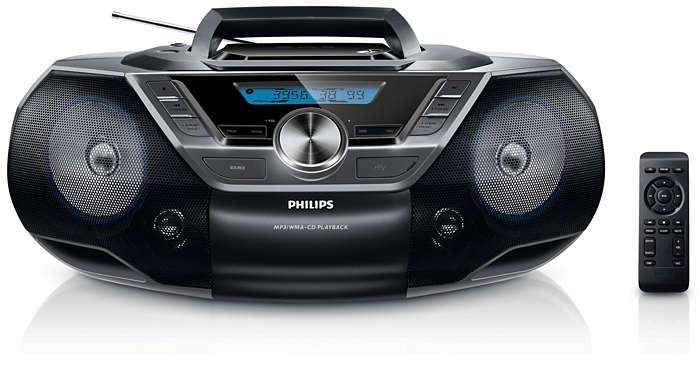 Audio portatile di alta qualità