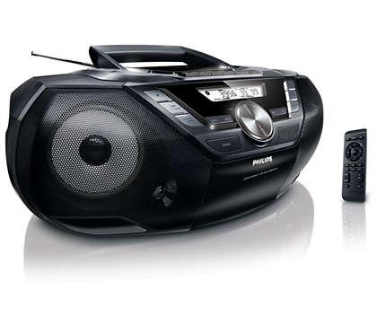 Potężny dźwięk w przenośnym urządzeniu