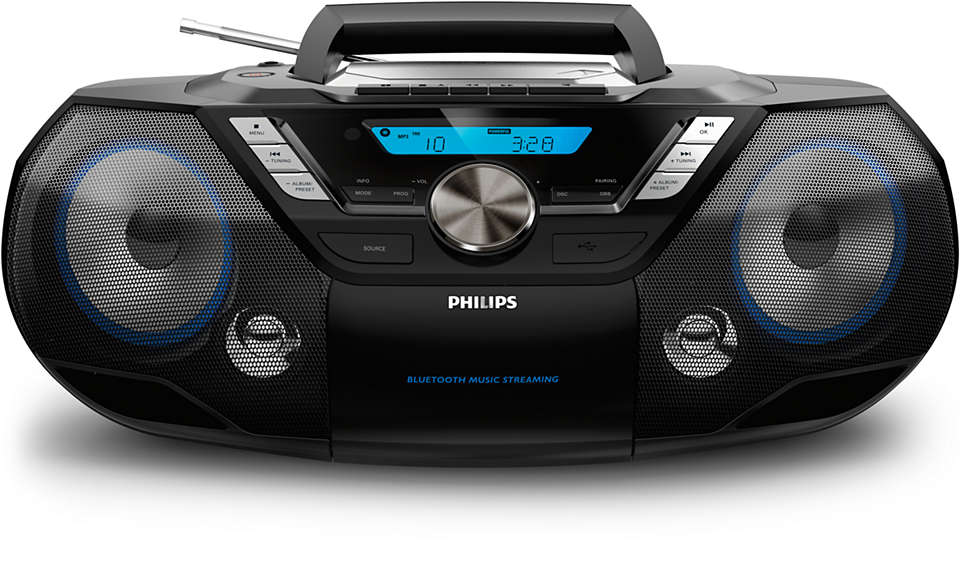 Audio portatile potente