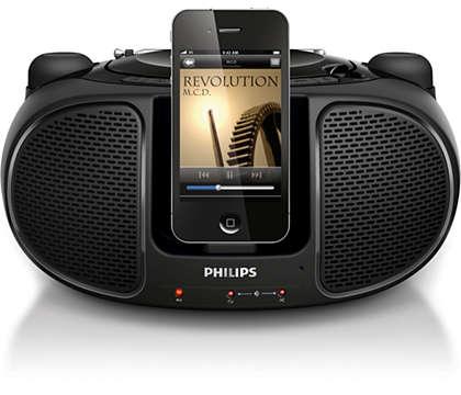 Geniet overal van de muziek op uw iPod/iPhone