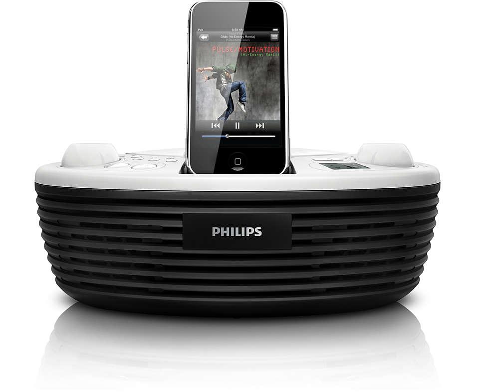 Écoutez la musique de vos CD ou de votre iPod, partout