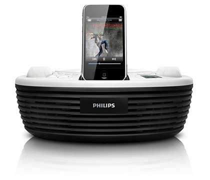 Geniet overal van de muziek op uw iPod en CD's