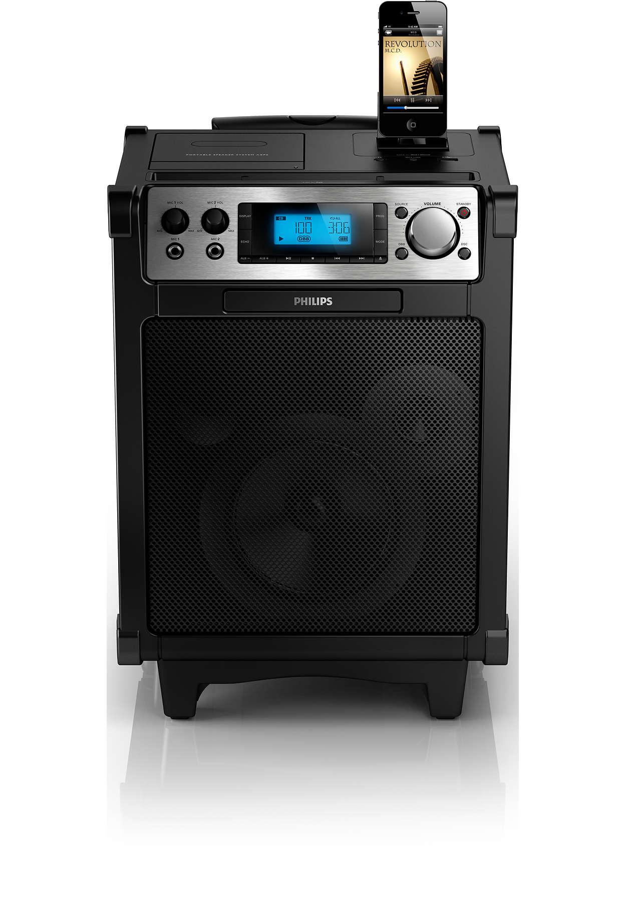 Il sistema audio ideale per i tuoi eventi