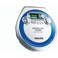 AZT3202/00C -    Tragbarer CD-Player