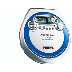 AZT3202/00C -    Lettore CD portatile