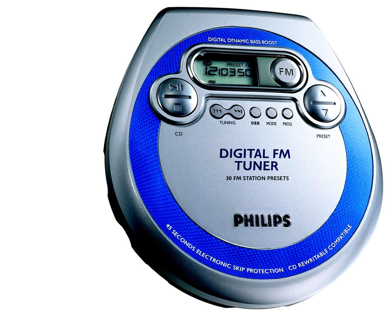 PLUS Digital FM tuner