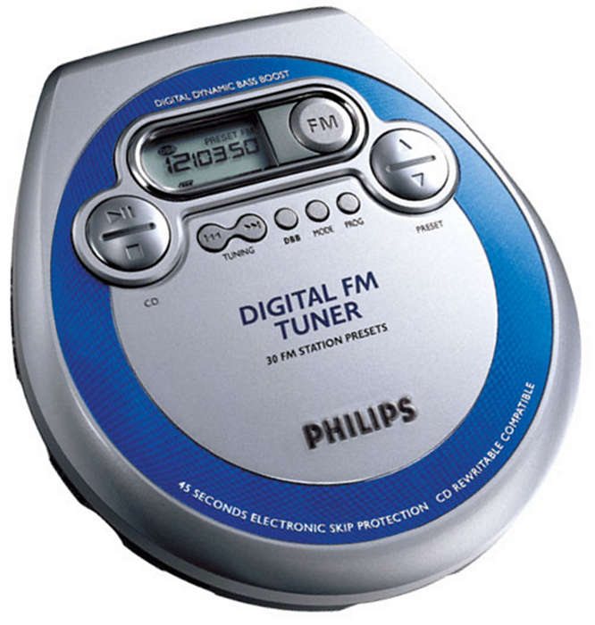 PLUS Digital FM tuner