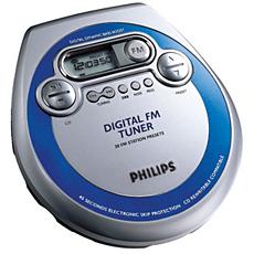 AZT3202/17  Lecteur de CD portatif