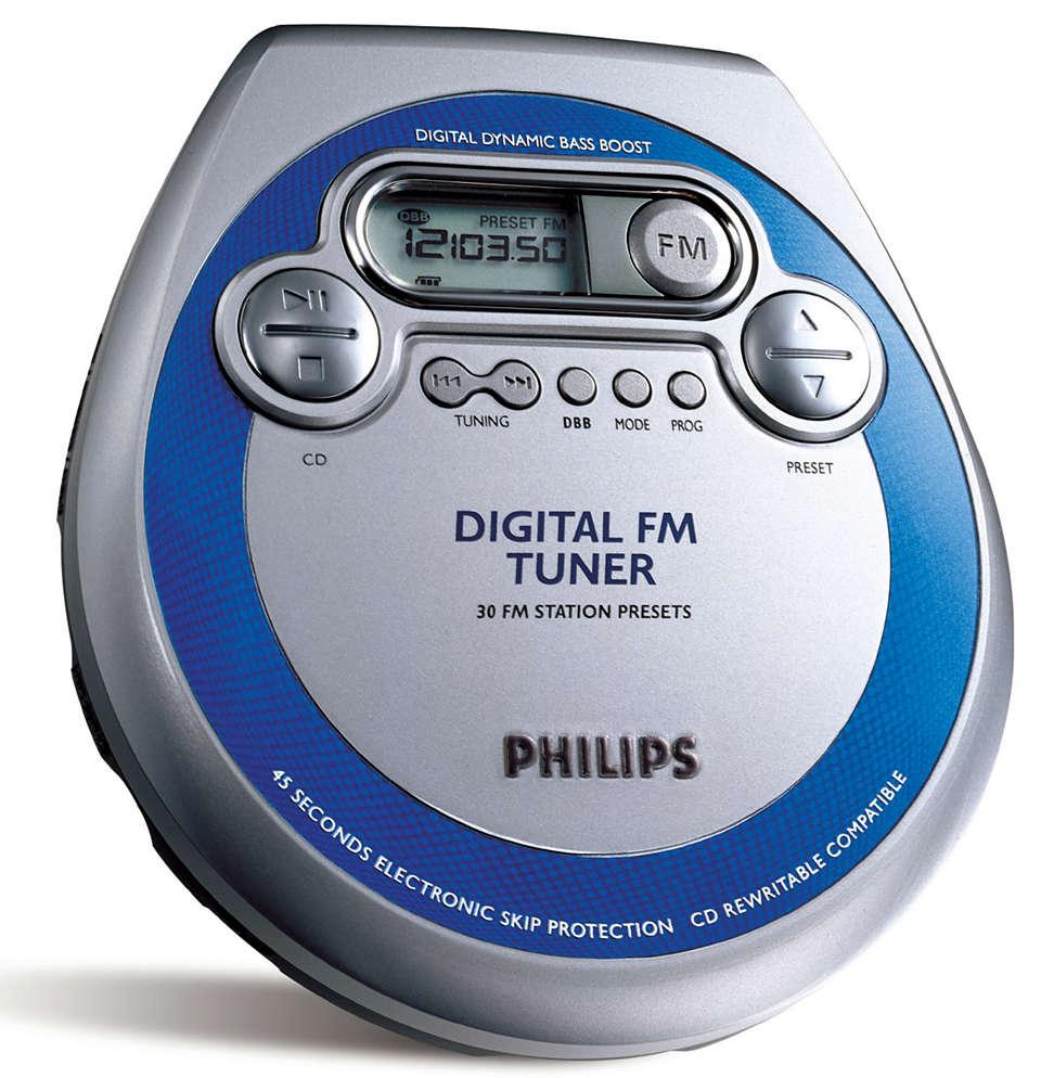 Sintonizador de FM PLUS Digital