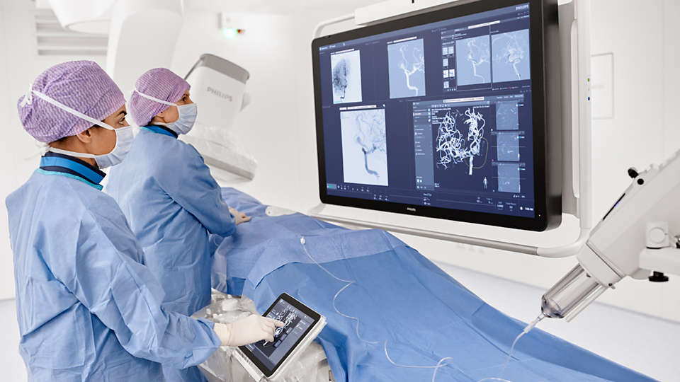 Azurion image-guided therapy platform