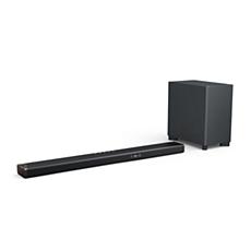 B95/10 Philips Fidelio Soundbar 5.1.2 med trådlös subwoofer