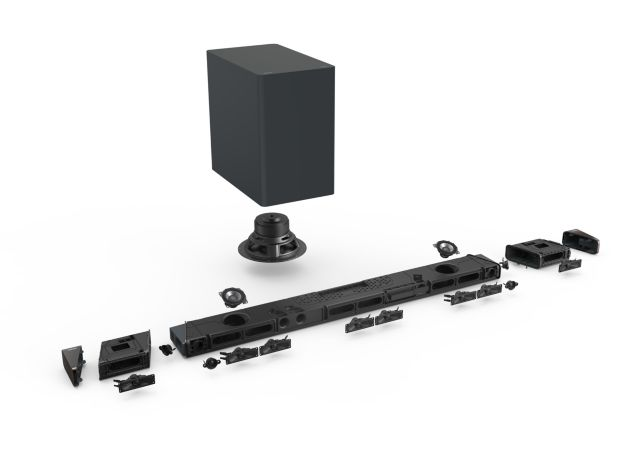 Philips Audio 2020: 7.1.2 Soundbar Fidelio B97/10